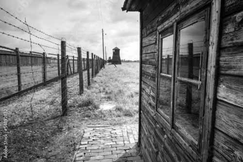 Majdanek concentration camp on the outskirts of Lublin, Poland