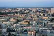 Panorama of Warsaw city, Poland