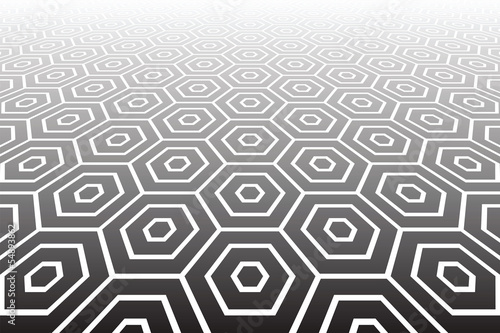 Hexagons textured  surface. Abstract geometric background.