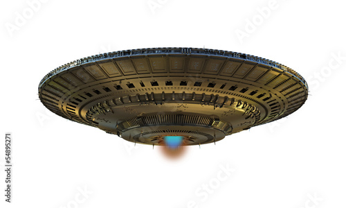 alien spaceship - 54895271