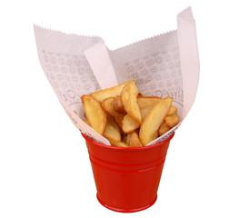 Elma Dilim Patates Kızartması