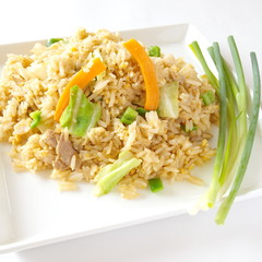 fried rice  vegetarian food