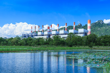 power plant and environment