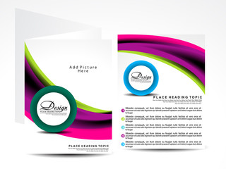 modern vector brochure designs
