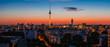 Fototapeten,berlin,skyline,fernsehturm,sonnenuntergang