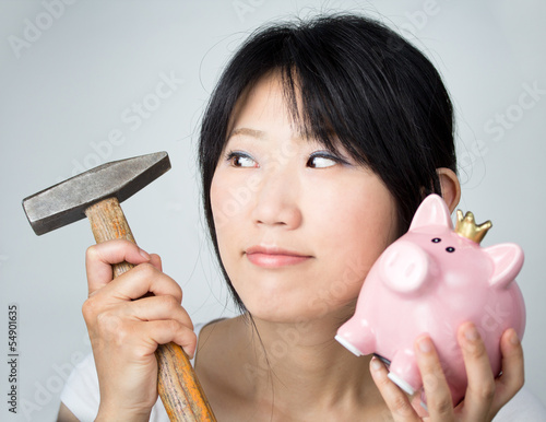 Sparschwein plündern