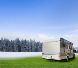 Wintercamping mit Wohnmobil