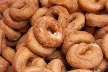 Rosquillas de anis fritas