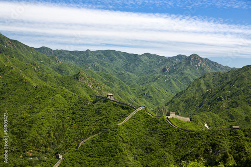 Fotobehang Chinese Muur The Great Wall of China