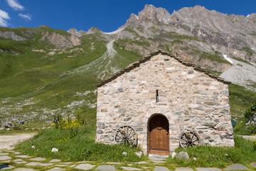 Chapelle en montagne