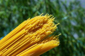 pasta - spaghetti, natura, vita sana, piatto nutriente salutare