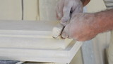 sanding limestone decoration