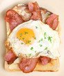 Bacon & Egg on Toast