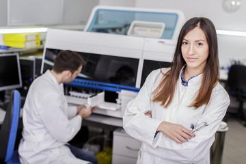 Modern medical laboratory