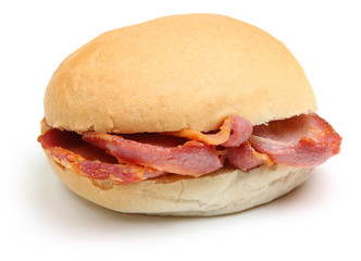 Bacon Bap or Roll