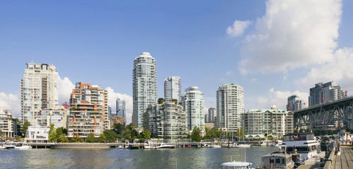 Waterfront Living by Granville Island Bridge Vancouver BC