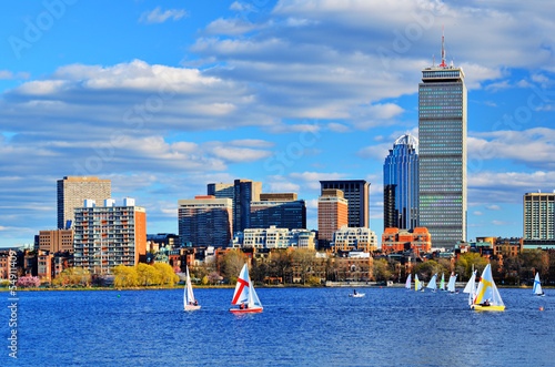 Boston, Massachusetts Skyline at Back Bay