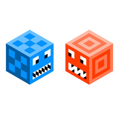 Cube Monsters / Robots