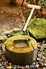 Hand Wash Basin in Kyoto, Japan