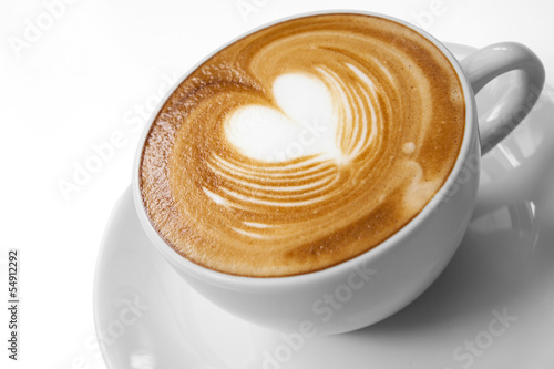 Foto op Canvas Koffie Cup of coffee with Love