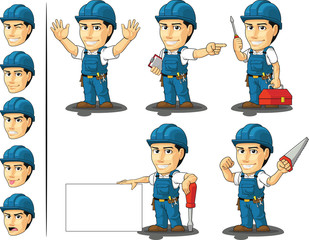 Technician or Repairman Mascot 2