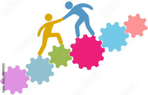People help connect join technology