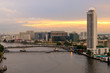 Fototapeten,bangkok,krankenhaus,rivers,brücke