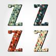 retro letter Z