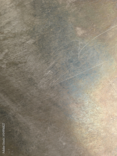 Oxidized scratched metal texture