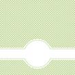 Banner mit Textfreiraum auf Punkt Muster