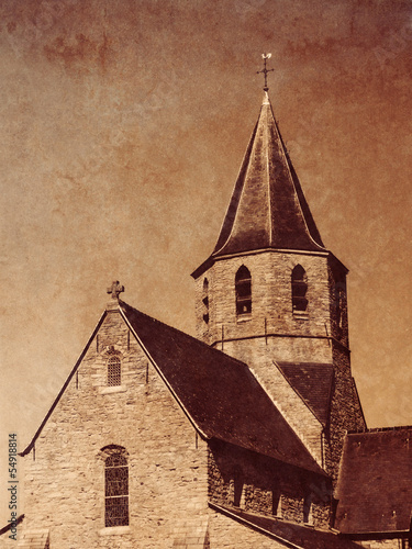 Church with Texture