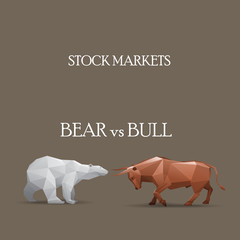 Stock Market- Bear vs Bull