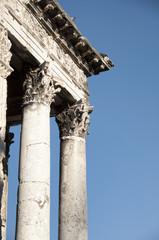 Templod de Augusto (Pula, Croacia)