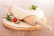 raw homemade dough