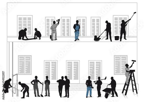Handwerker Renovieren