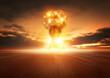 Zdjęcia na płótnie, fototapety, obrazy : Atom Bomb Explosion