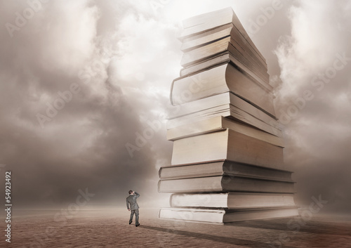 Mountain of Books