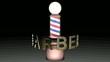signpole - barber