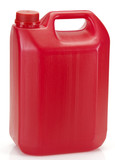 red plastic container