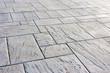 Leinwandbild Motiv background of floor with paving stones
