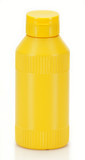 small yellow plastic bottle