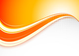 Fototapety Abstract orange background