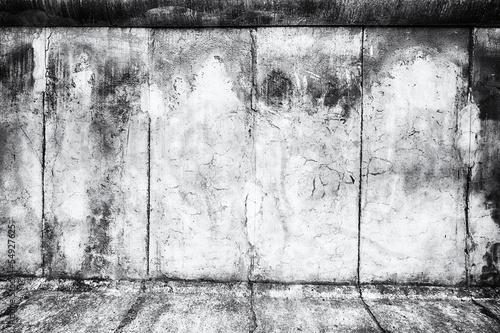 The Berlin Wall - abstract background