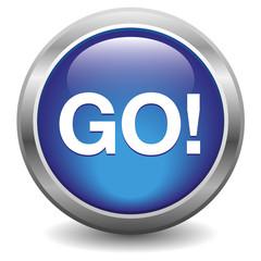 Go blue button