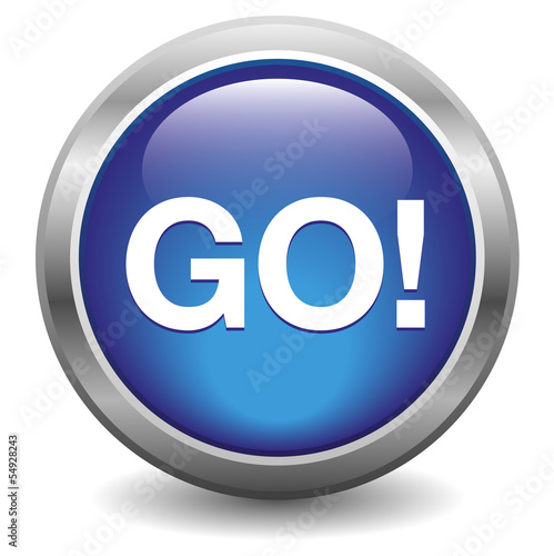 Go blue button