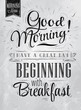 Poster Good morning! beginning coal - 54928626
