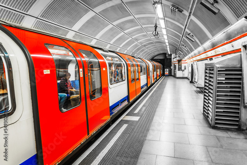 canvas print picture The Tube