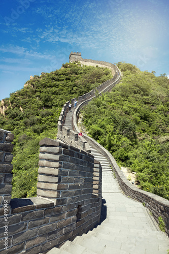 Fotobehang Chinese Muur The Great Wall of China