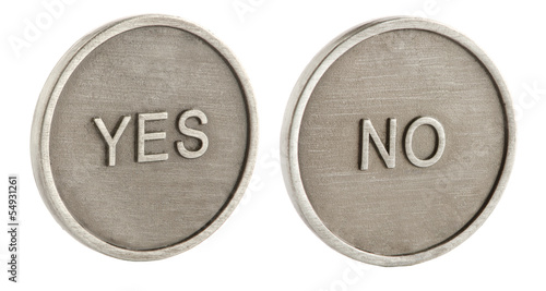 Two faces of a coin