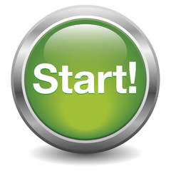 Start green aqua button